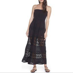 Chelsea28 Farrah Smocked coverup maxi dress